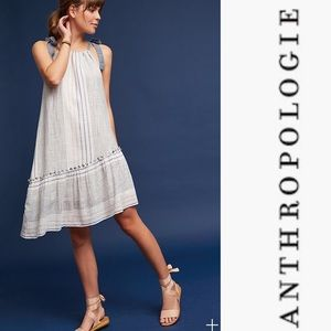 NWT Anthropologie Maeve Yarn Dyed Miller Dress
